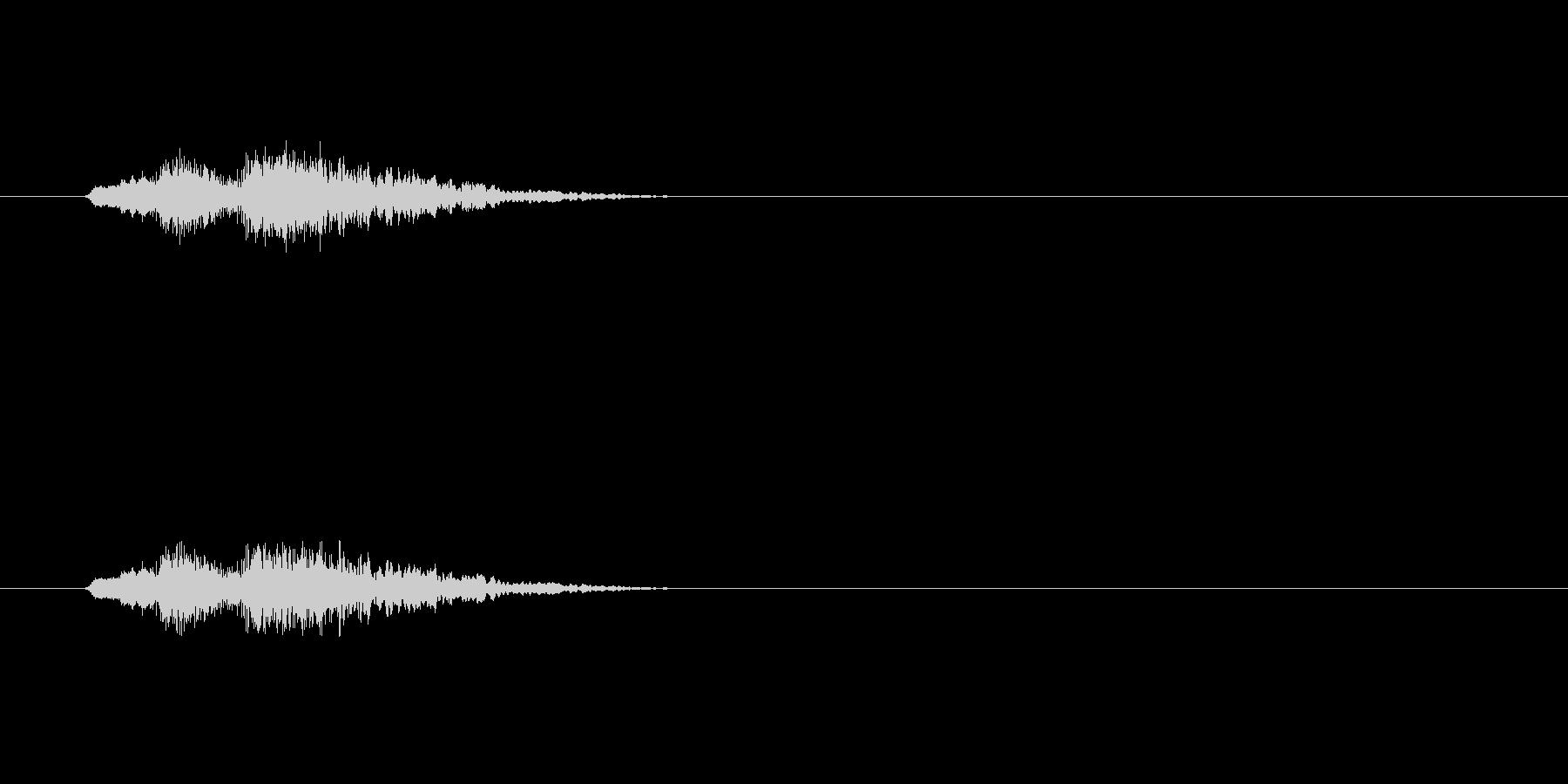 【アクセント30-3】の未再生の波形