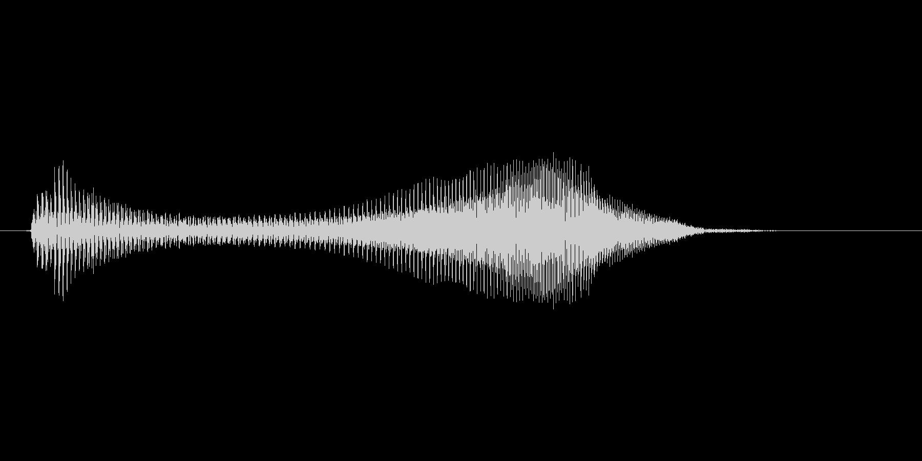 えいっ!(Type-B)の未再生の波形