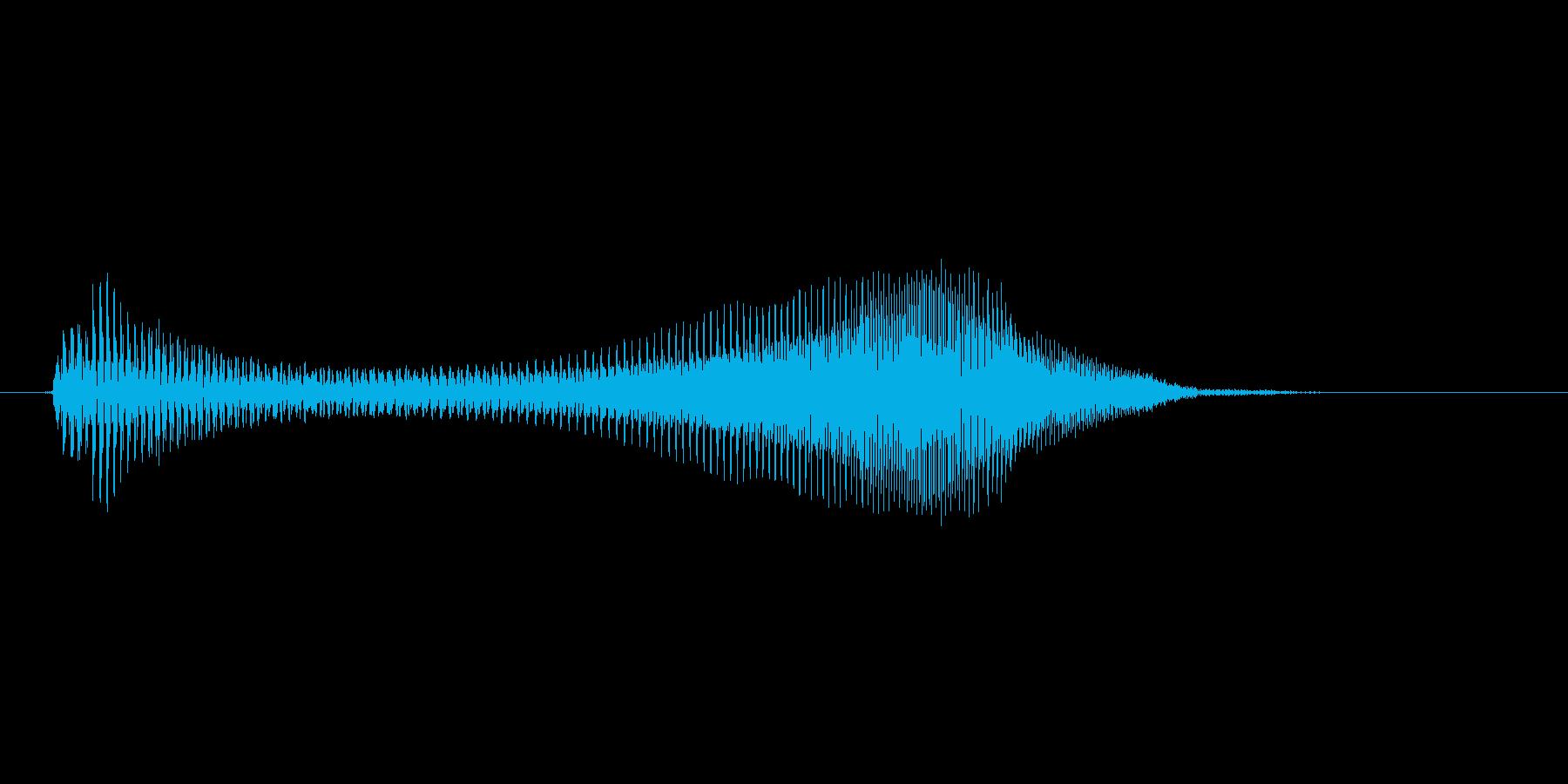 えいっ!(Type-B)の再生済みの波形