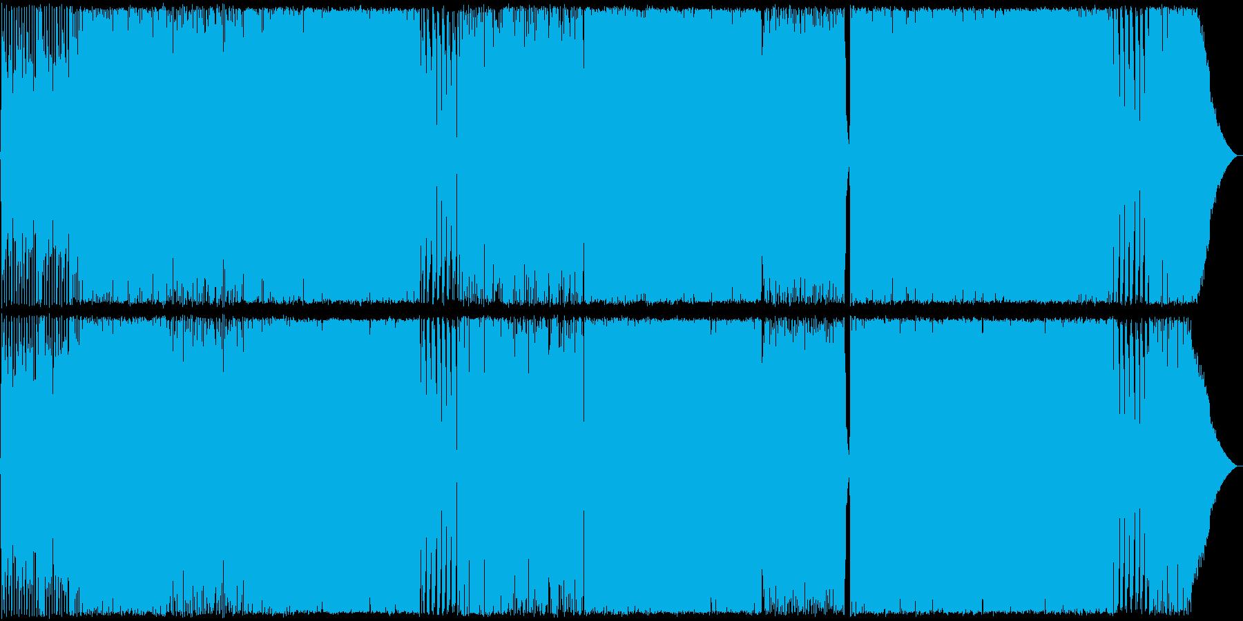 哀愁Rock02 生演奏の再生済みの波形