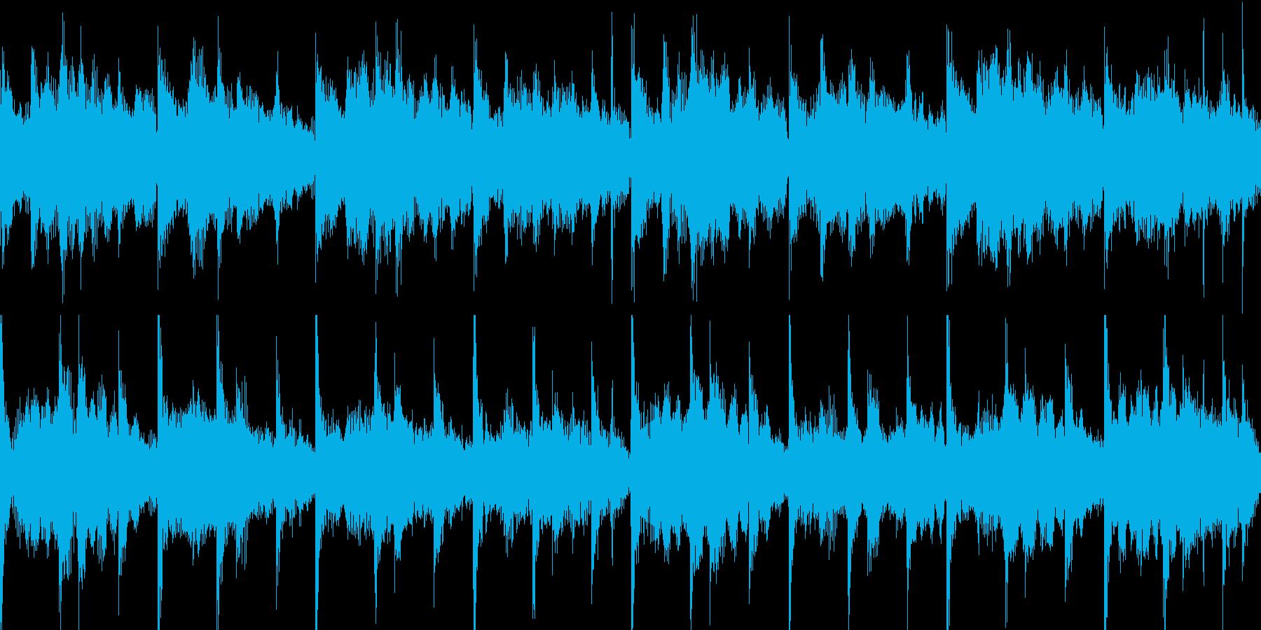フルートと打楽器の、優しい短めの曲ですの再生済みの波形