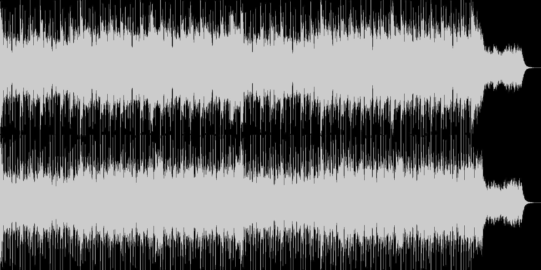 ほのぼの系、オーボエとマリンバのポップスの未再生の波形