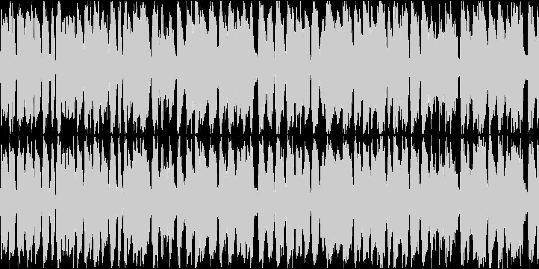 【ジャズ】ショートループ【映像】の未再生の波形