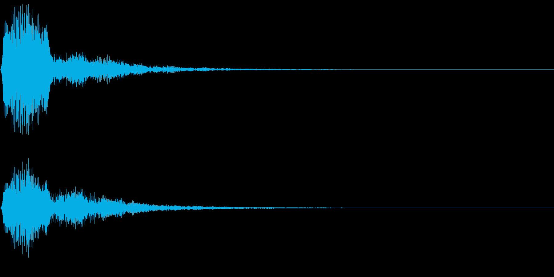 タラン(オーボエ、ゲーム、アプリなどに)の再生済みの波形
