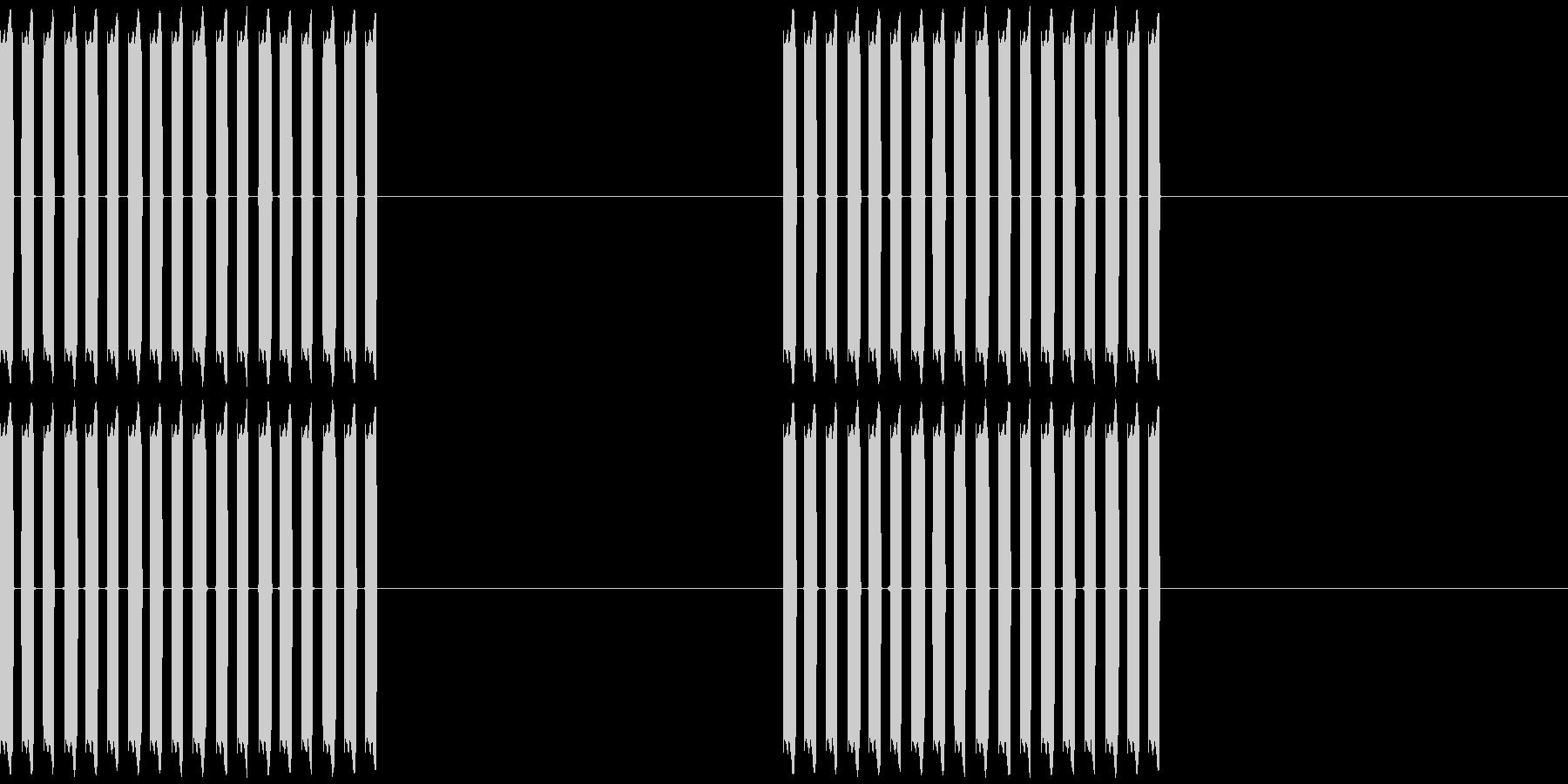 携帯電話の着信音1の未再生の波形