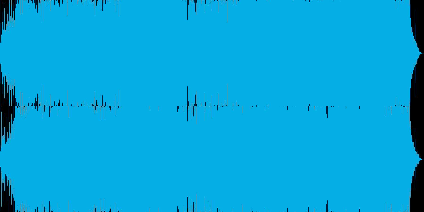 ループに最適なコーラス入りのダークBGMの再生済みの波形