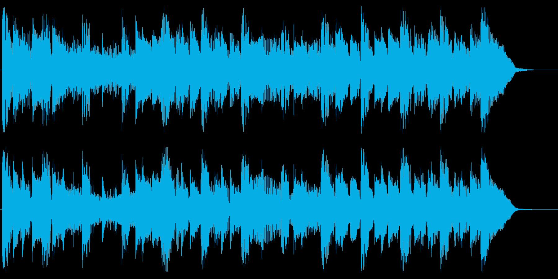 爽やかなギターサウンドの再生済みの波形
