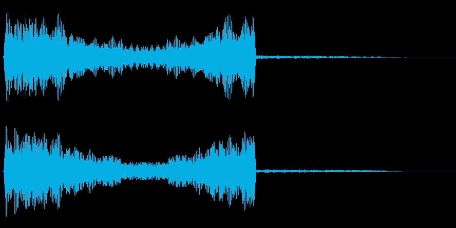 ピーーン (透明感のある発射音)の再生済みの波形