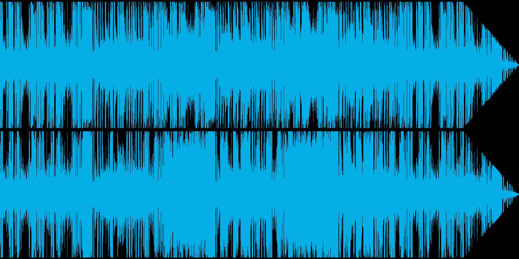ほのぼのとしたレトロジャズ系日常BGMの再生済みの波形