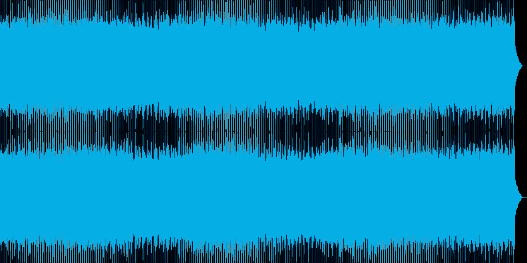 ニュース番組・インダストリーBGMの再生済みの波形