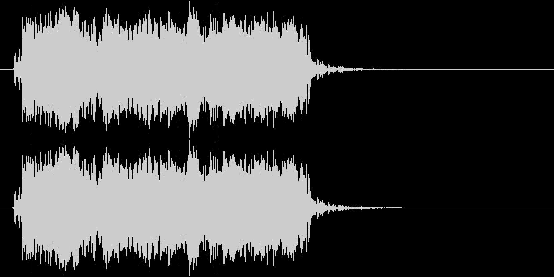 ギターフレーズ007の未再生の波形