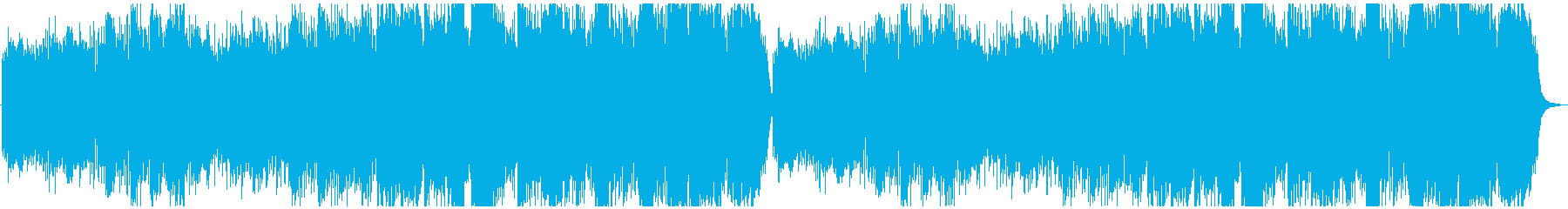 ほのぼのとしたトラッドの再生済みの波形