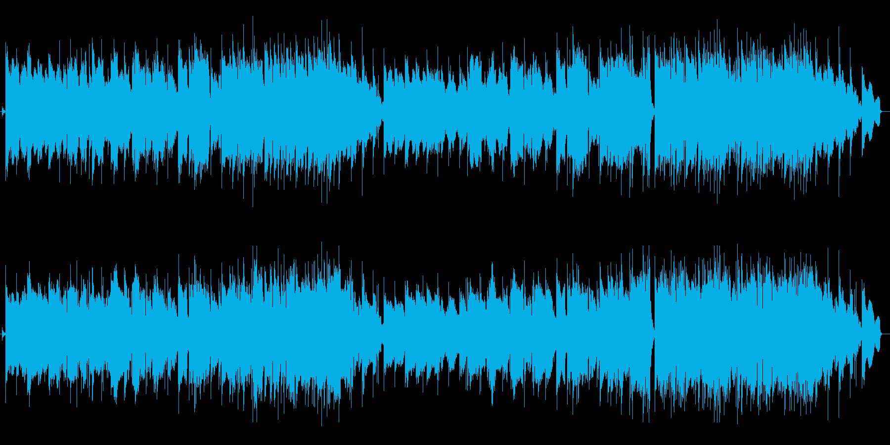 ギター系音色の切なげなポップスの再生済みの波形