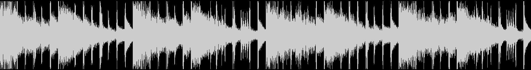 ムーディなバラードBGM(ループ仕様)の未再生の波形