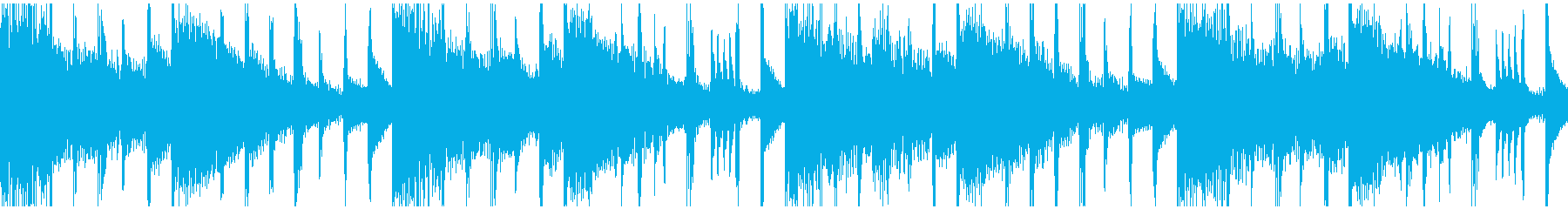 ムーディなバラードBGM(ループ仕様)の再生済みの波形