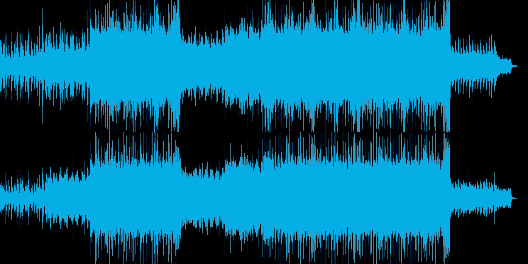 ピアノとストリングスの力強い曲です。フ…の再生済みの波形