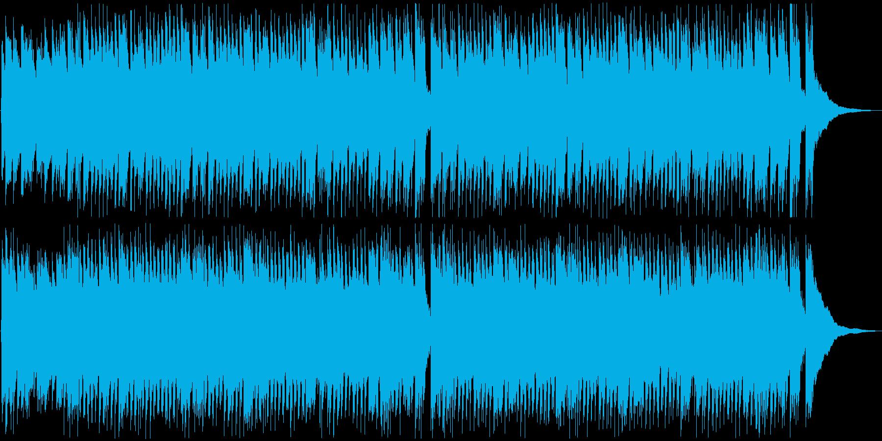 ほのぼのとした可愛いBGMの再生済みの波形