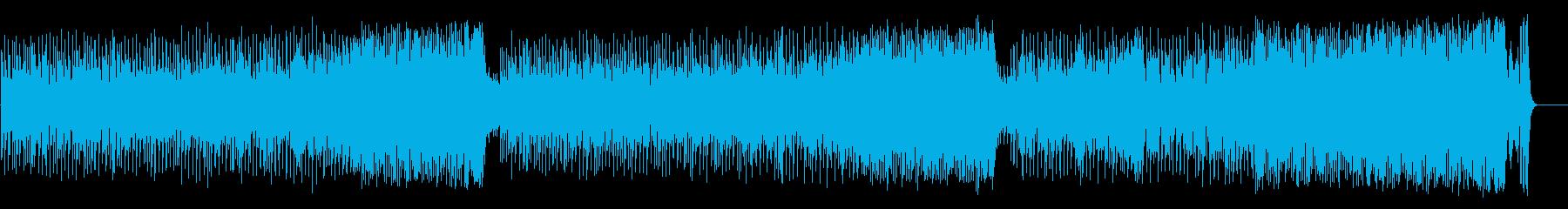 和やかなポップ BGM(フルサイズ)の再生済みの波形
