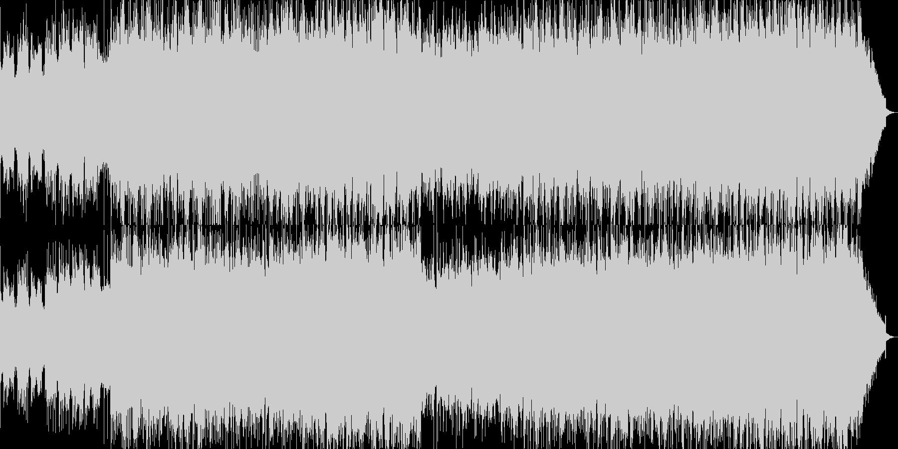 フラメンコギターのアンサンブルオリジナルの未再生の波形