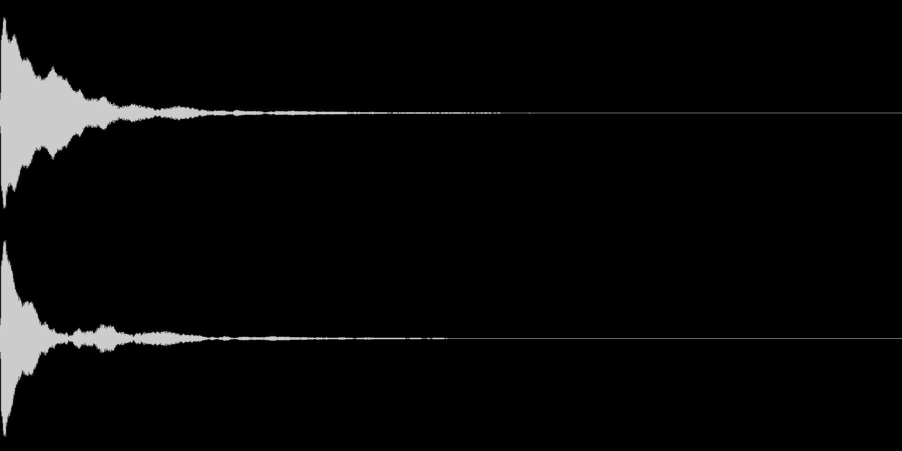 ポーン(レーダー、ソナー)の未再生の波形