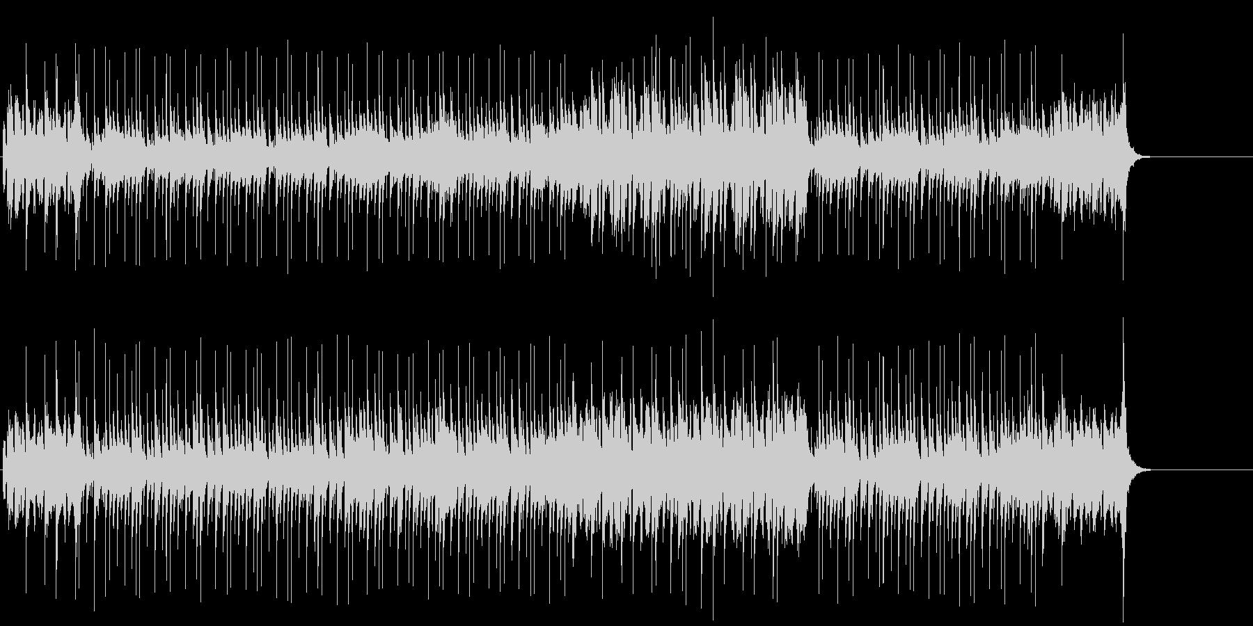 ラグタイムのピアノにのせた楽しいポップの未再生の波形
