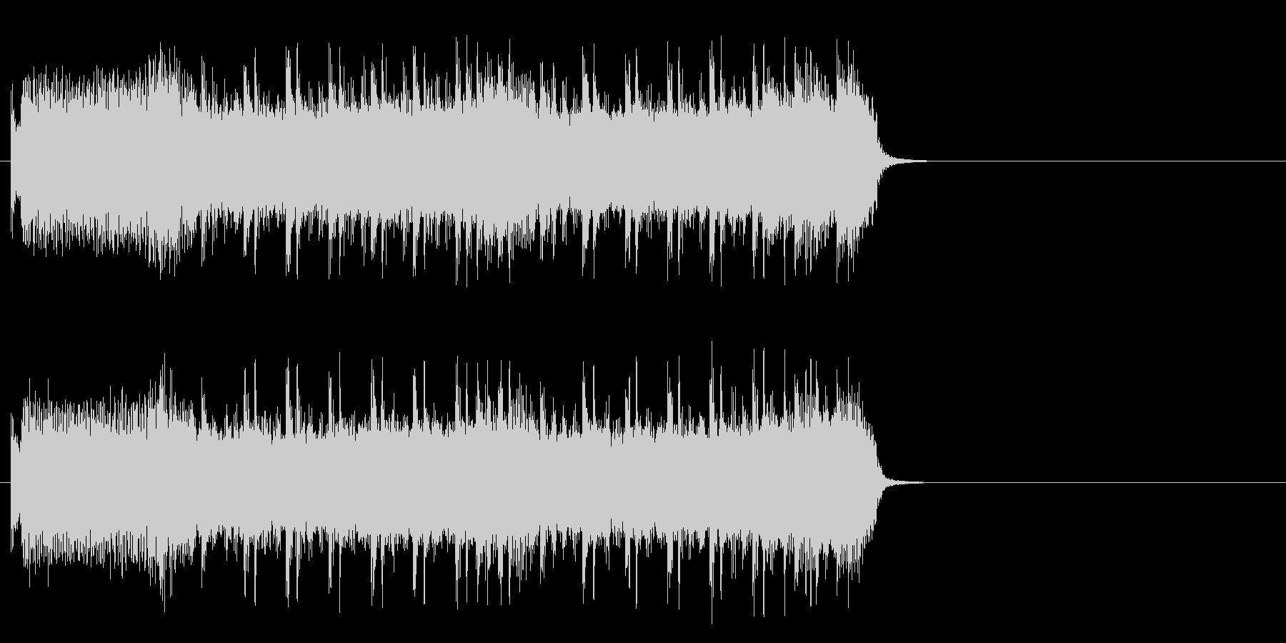 風が駆け抜けるロック(イントロ)の未再生の波形