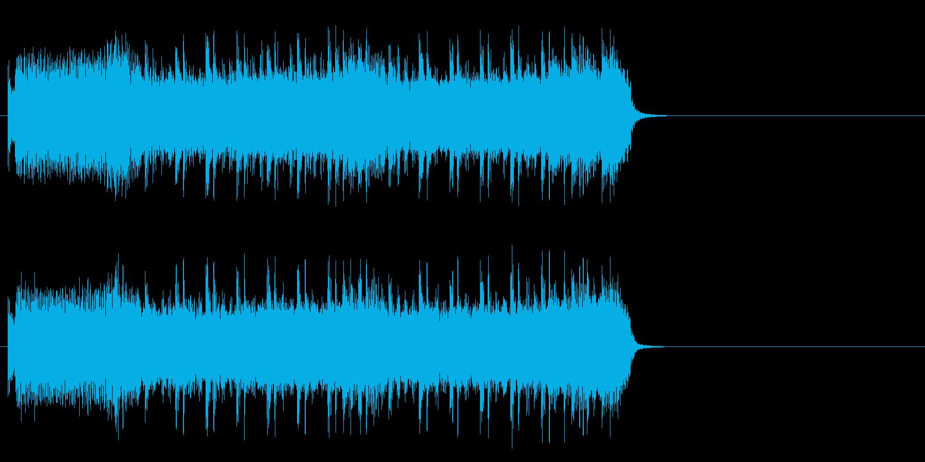 風が駆け抜けるロック(イントロ)の再生済みの波形
