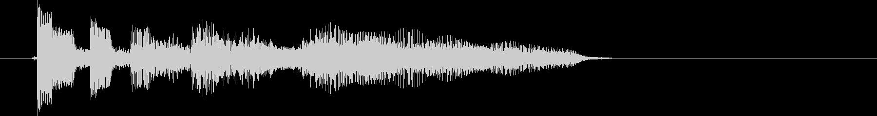 エレキ カントリー切り替え2 UPの未再生の波形