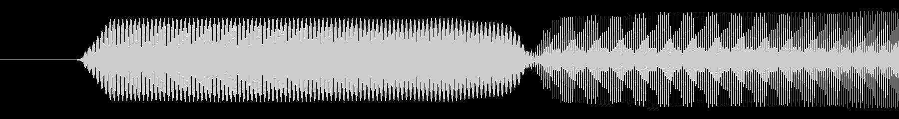 ピコッ/入力成功/8ビット系の未再生の波形