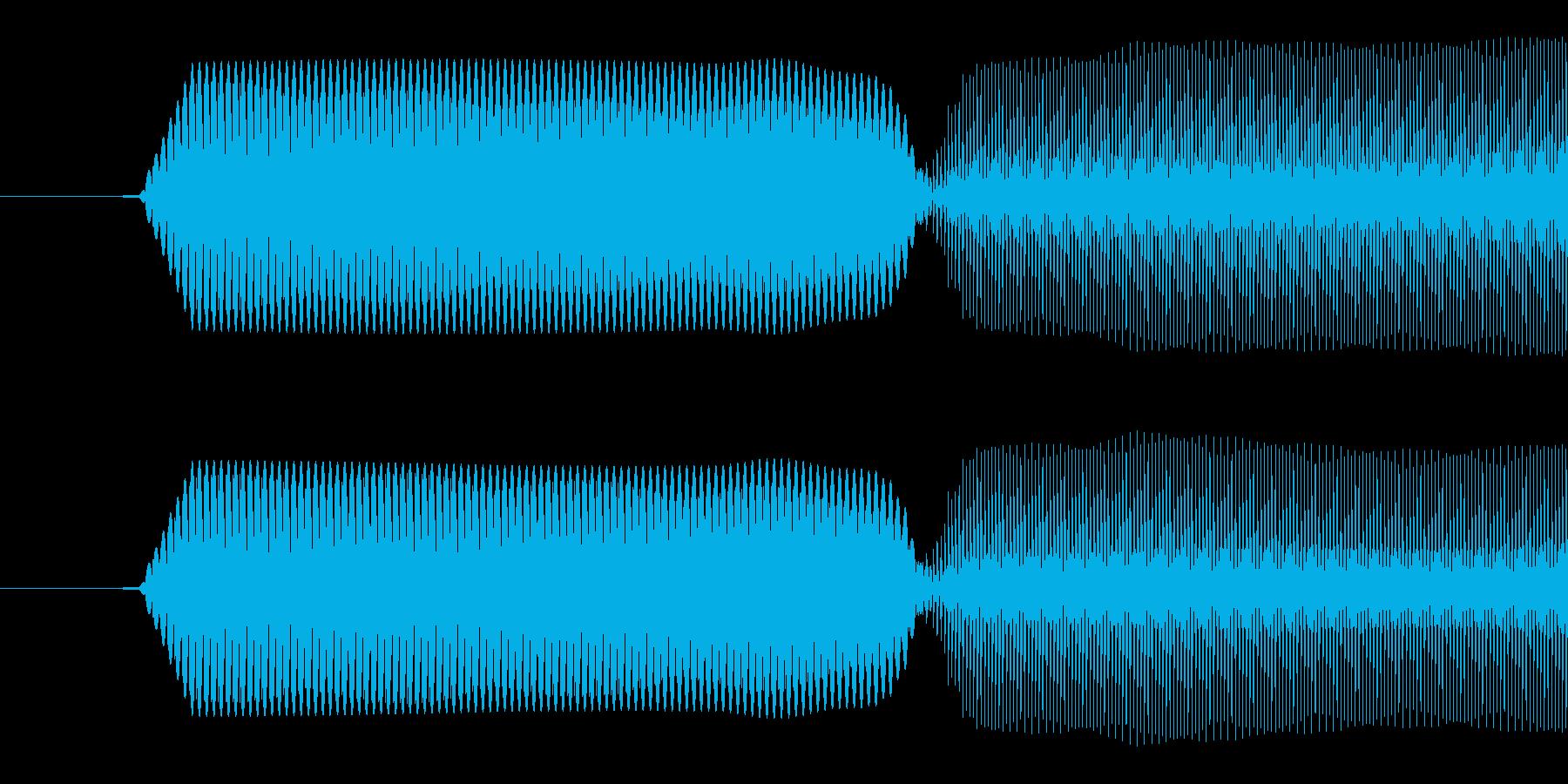 ピコッ/入力成功/8ビット系の再生済みの波形