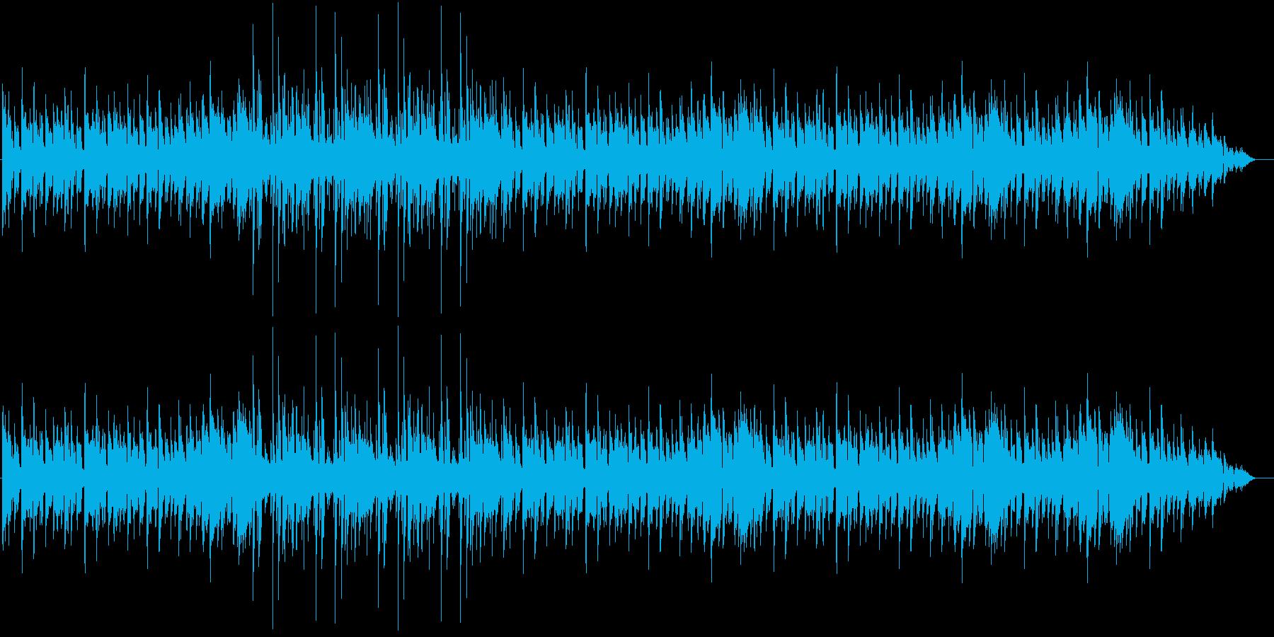 138bpm、G-Maj、Vib→Gtの再生済みの波形