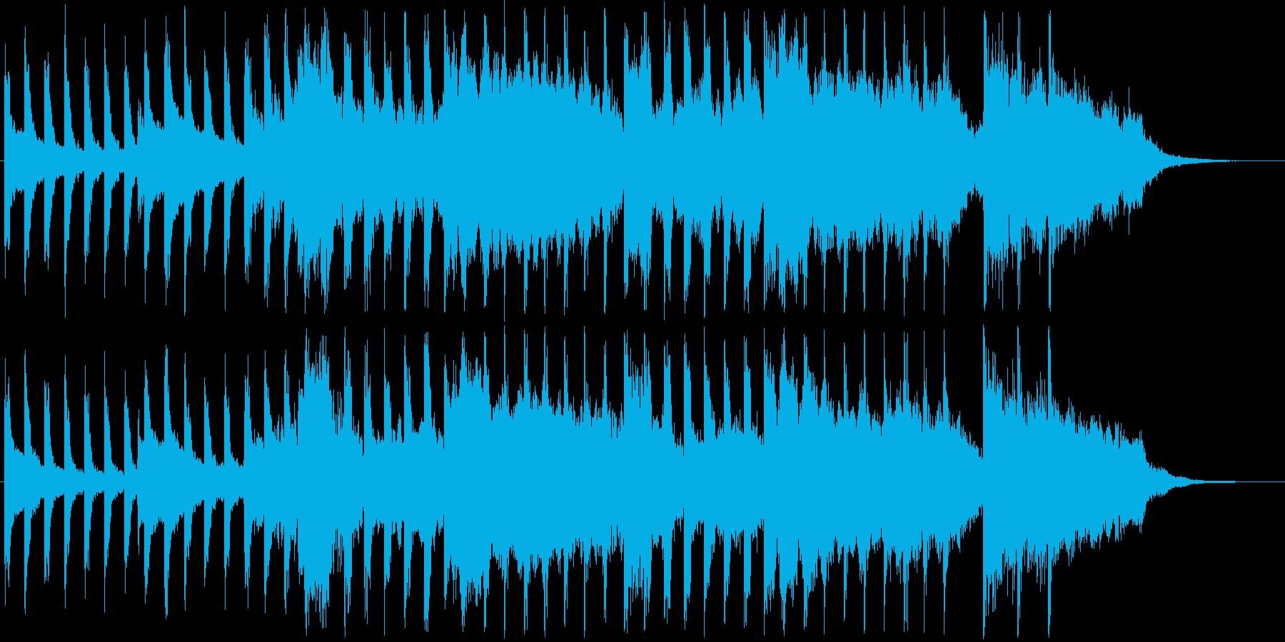 ウキウキするようなショートソングの再生済みの波形
