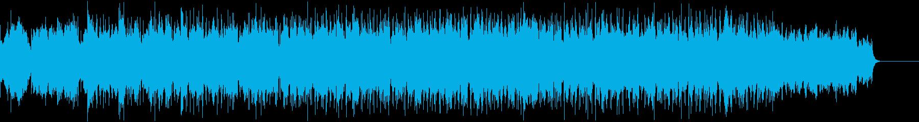 ピアノとストリングスのポップス・バラードの再生済みの波形