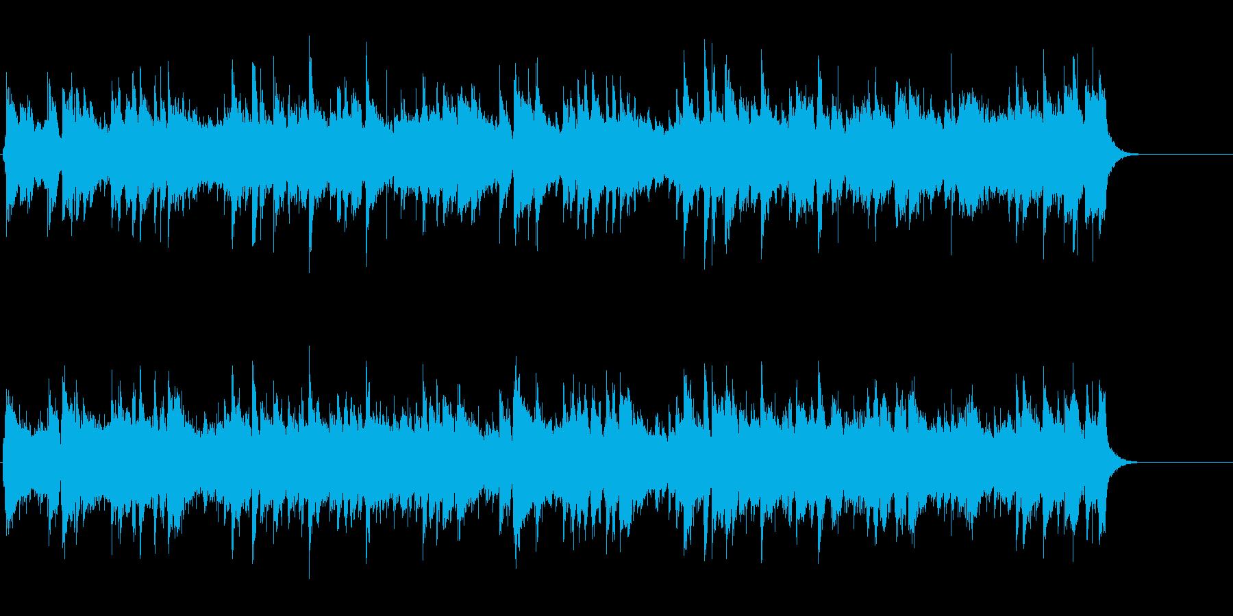 ギター・ポップ・バラード(ラブソング風)の再生済みの波形