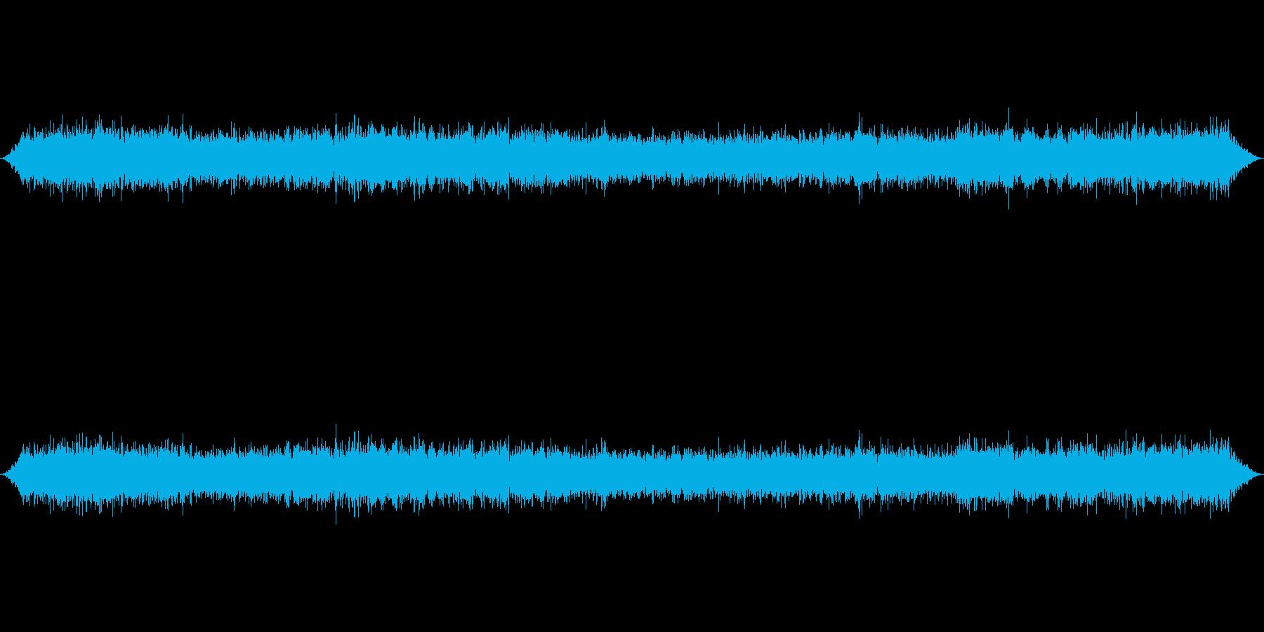 新幹線のぞみデッキ通常の再生済みの波形
