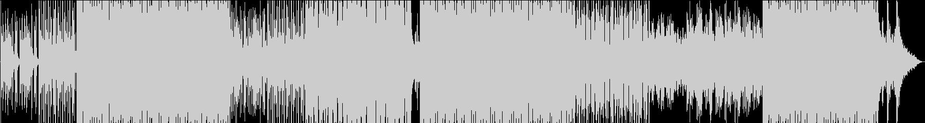 ちょっと早めの軽快なボサノバの未再生の波形