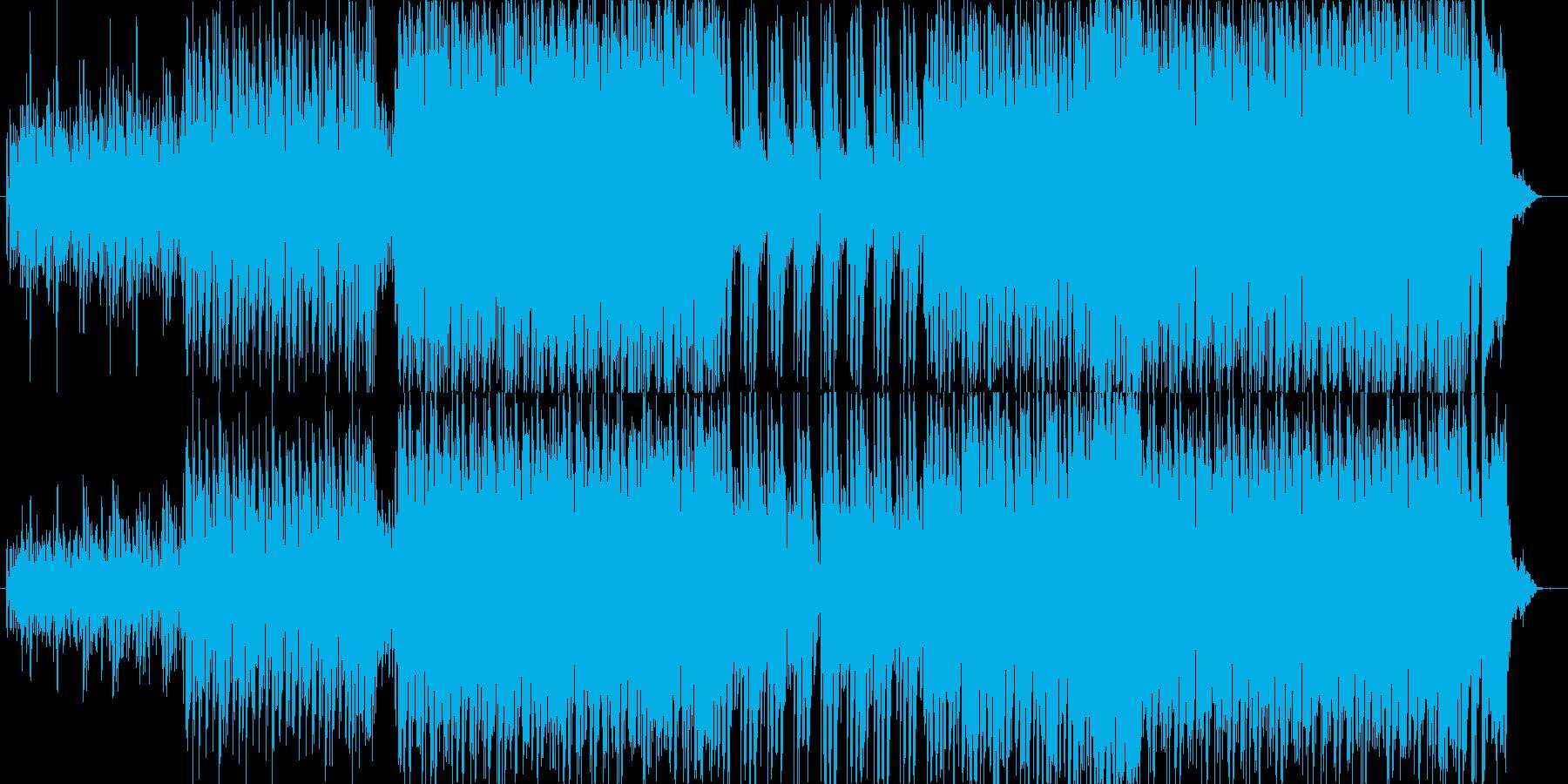 プレステやセガサターン時代アクション風の再生済みの波形