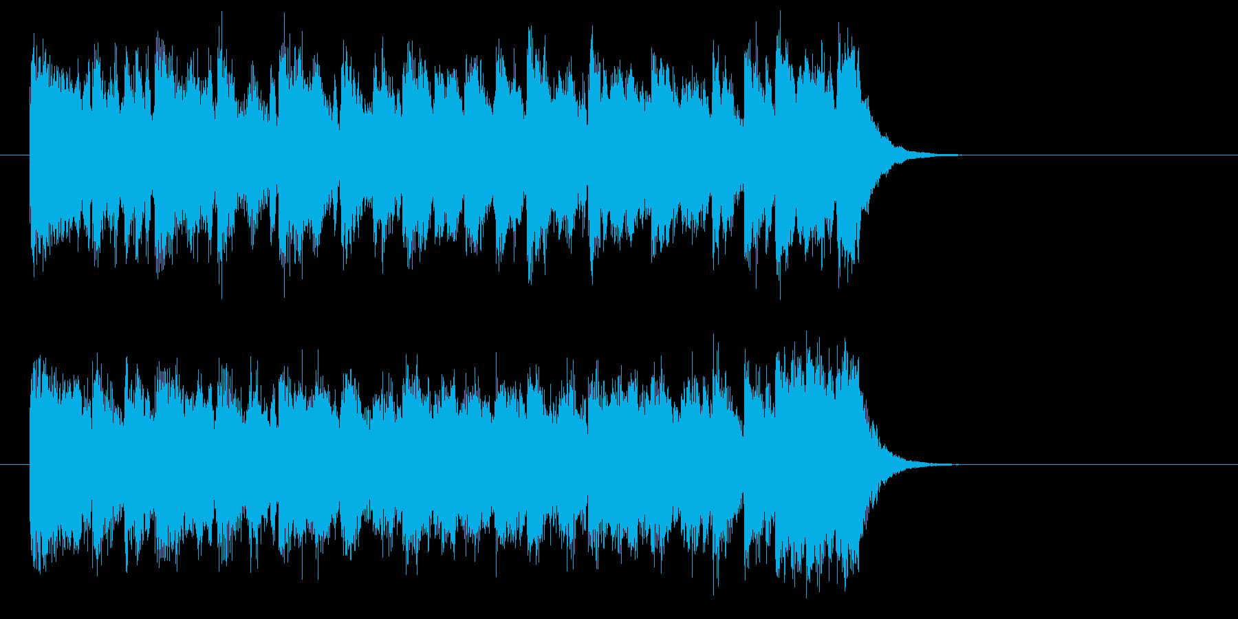 勇者のオーケストラ風音楽(サビ)の再生済みの波形
