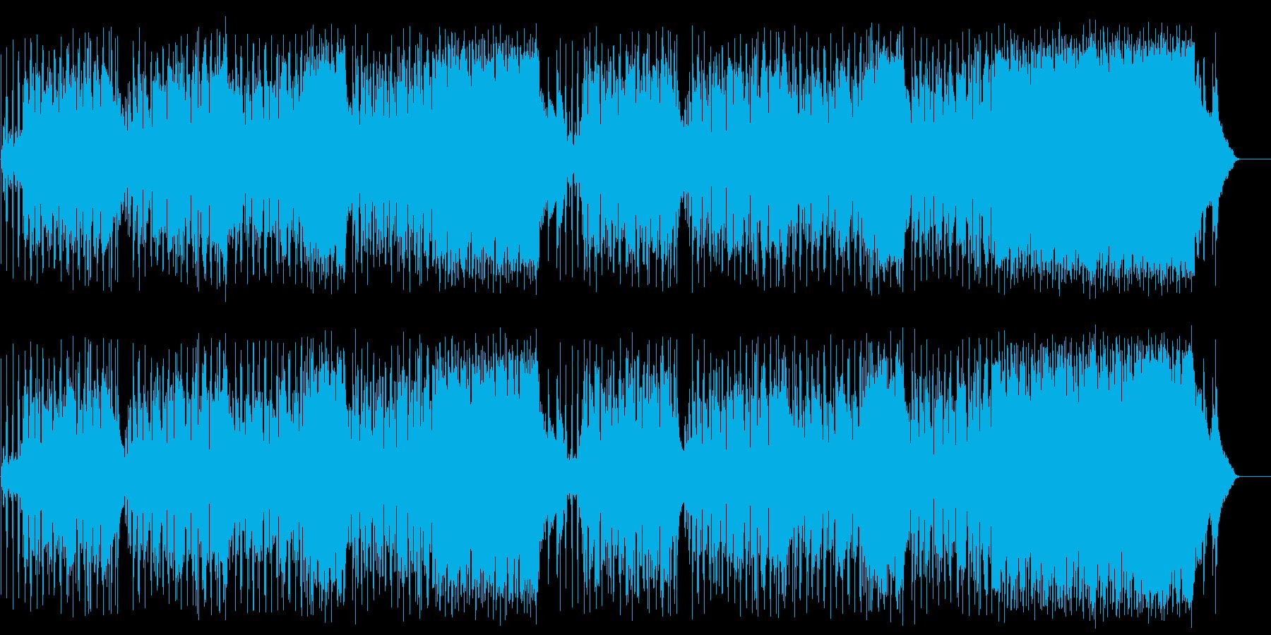 さわやか のどか アウトドア 青空 旅の再生済みの波形