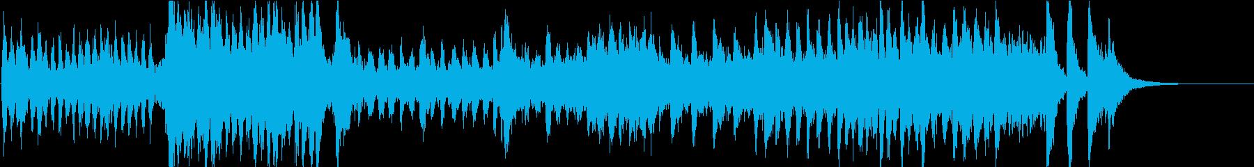 オーケストラ調いきなり次回予告の再生済みの波形