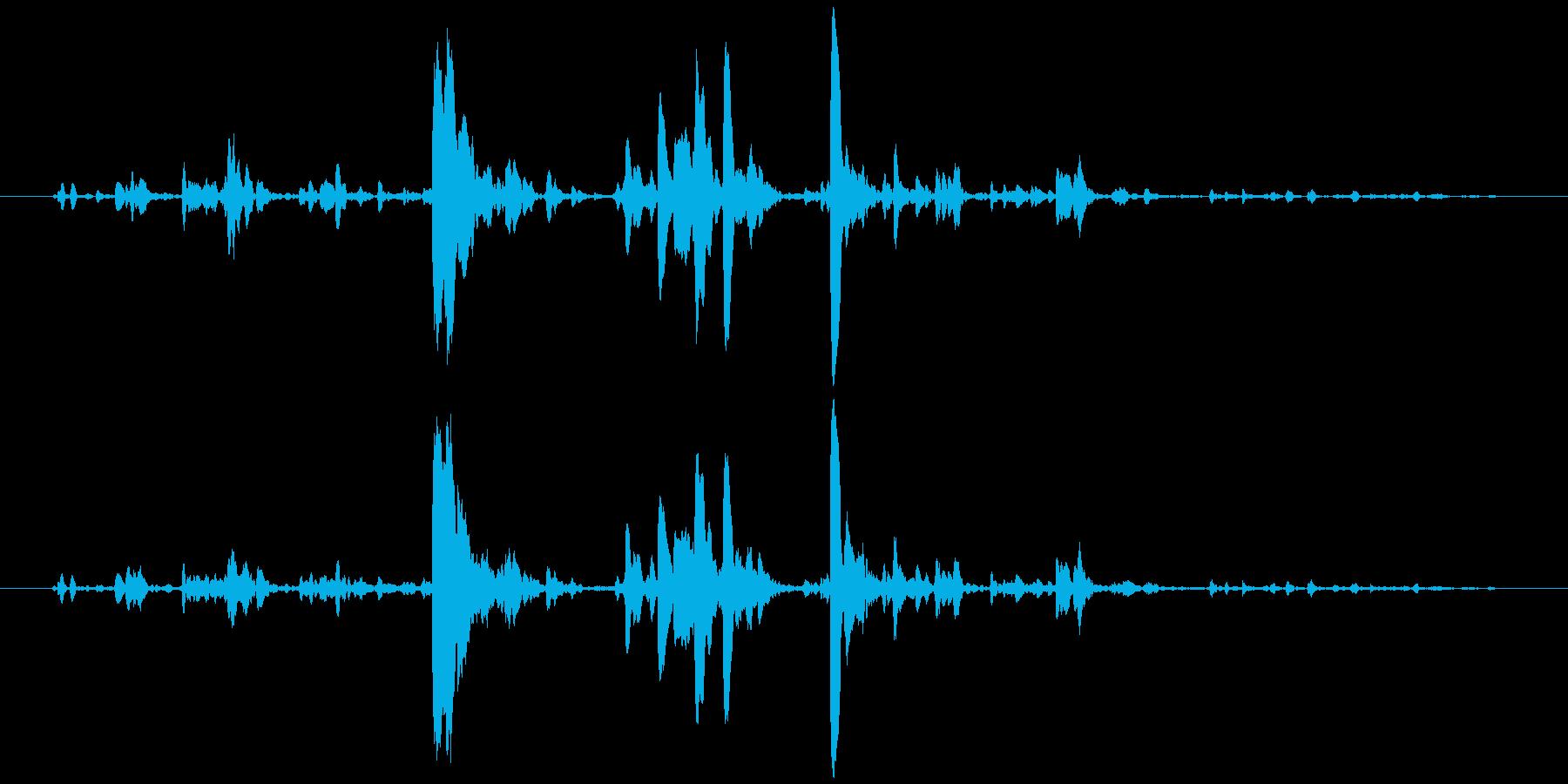 鈴の音 チリリリンの再生済みの波形