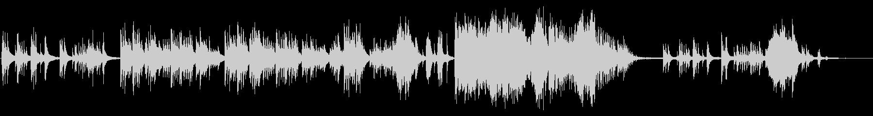 生ピアノで奏でる美しい日本の歌:赤とんぼの未再生の波形