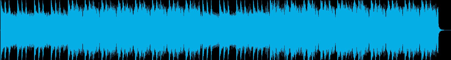 チルアウトなエレクトロニックBGMの再生済みの波形