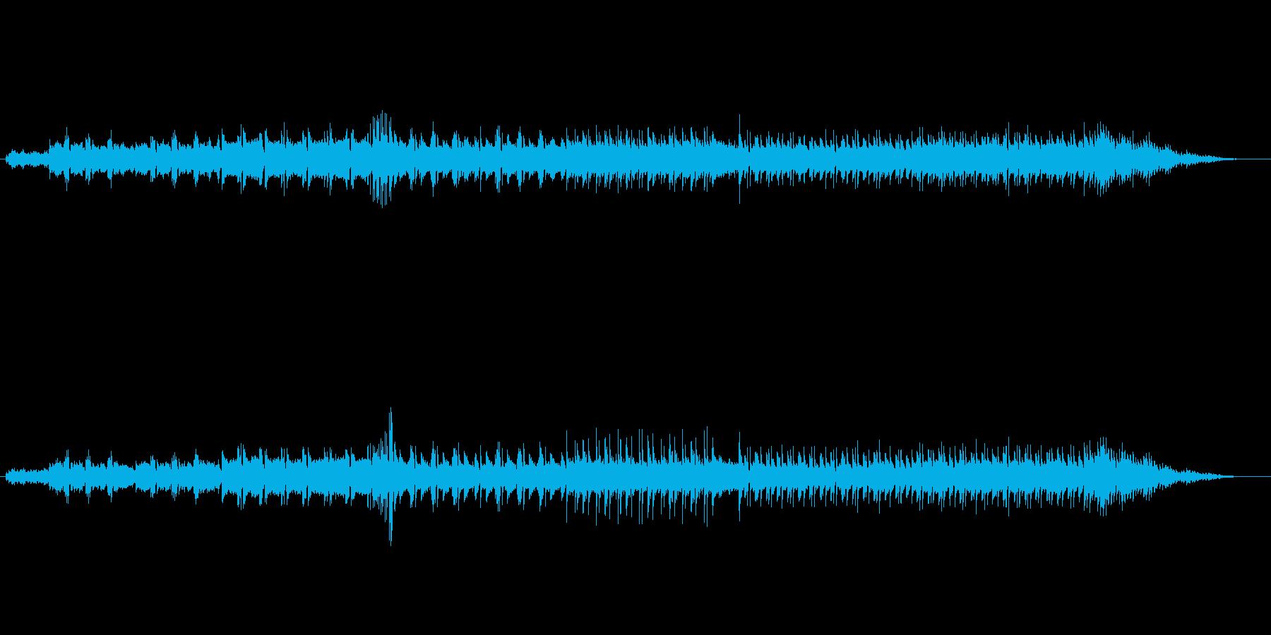 マイナー調ミディアム・バラード(雨音)の再生済みの波形
