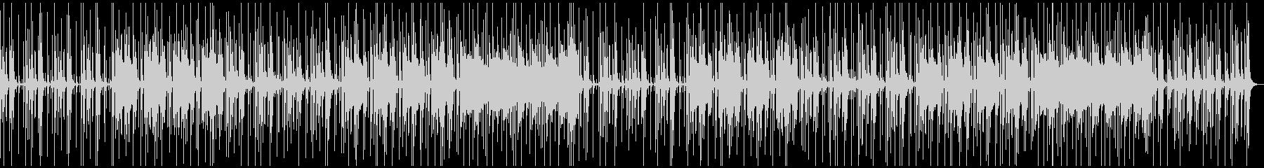 ほのぼの・軽快なBGMの未再生の波形