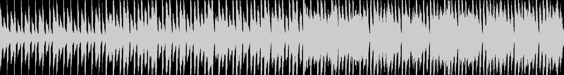 【ループ】ワクワク楽しい雰囲気の軽快なBの未再生の波形