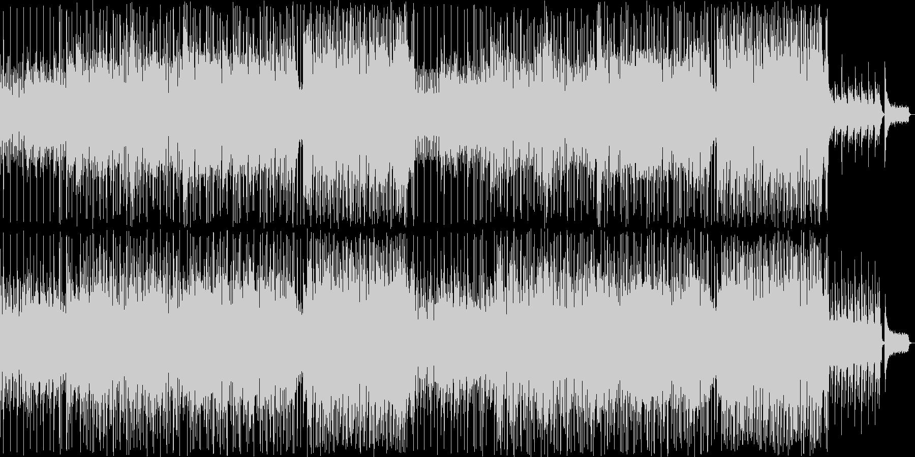 金属音がアクセントの美しいバラードの未再生の波形