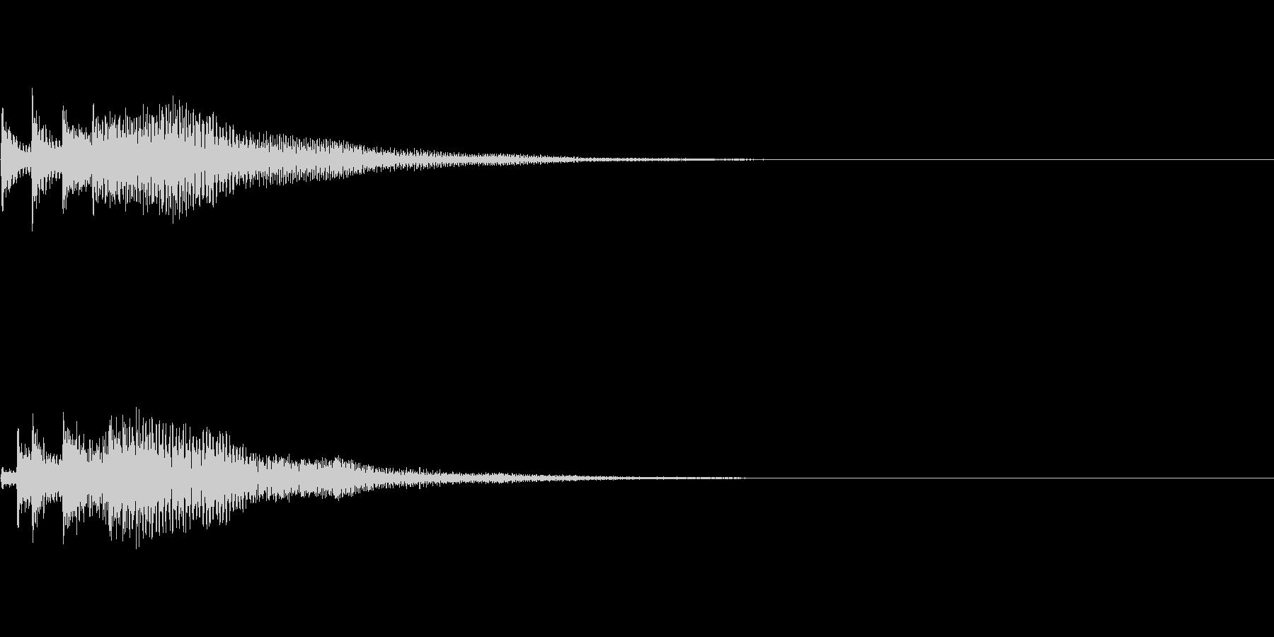 システム音15_シンセDPの未再生の波形