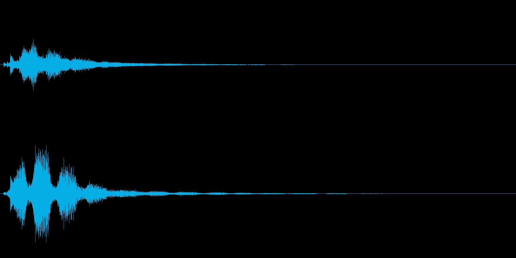 キラキラ系_063の再生済みの波形