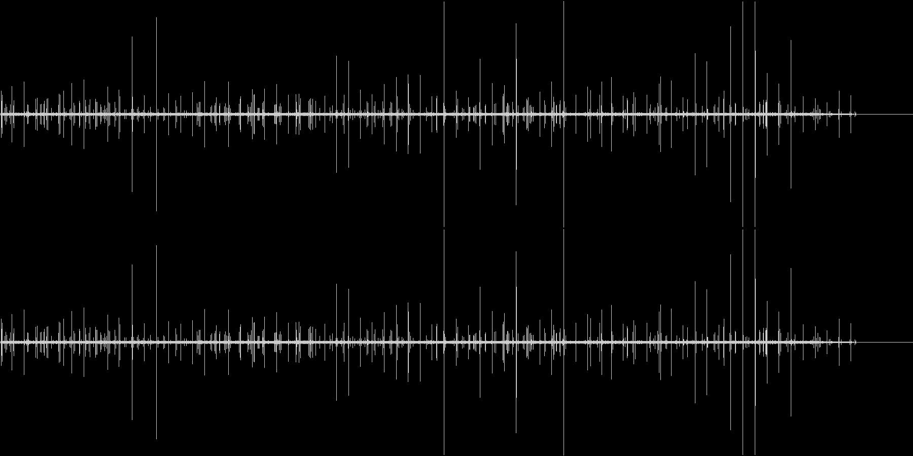 ぶちぶち(ノイズの音)の未再生の波形
